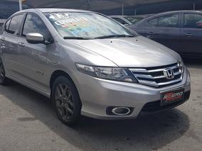 Honda City 2013 Dx Completo Couro Rodas 1.5 Flex