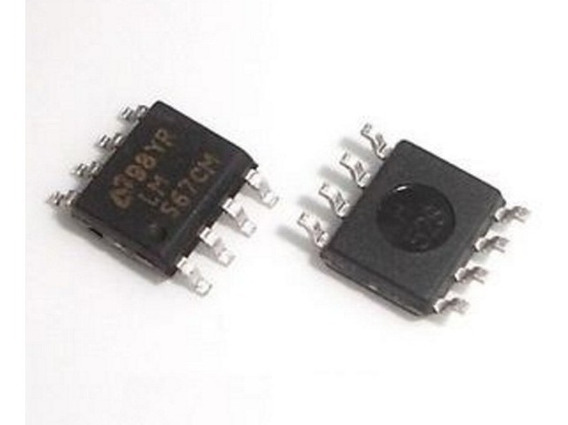 Kit X2 Lm567cm Smd Lm567 Decodificador De Tono Ka567d Lm567d