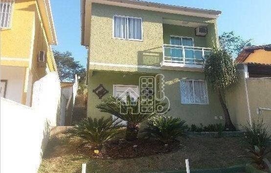 Casa Com 3 Dormitórios À Venda, 161 M² Por R$ 600.000 - Itaipu - Niterói/rj - Ca0296