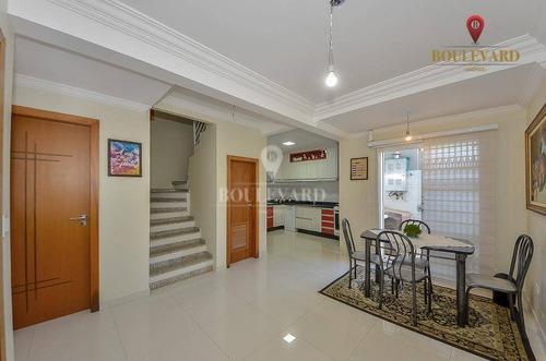 Imagem 1 de 25 de Sobrado Com 3 Dormitórios À Venda, 104 M² Por R$ 550.000,00 - Jardim Das Américas - Curitiba/pr - So0251