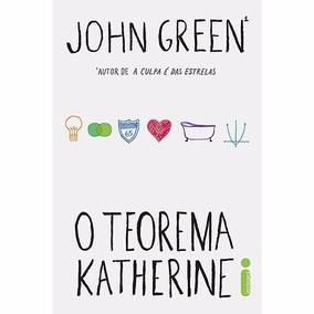O Teorema Katherine 1ª Ed. - John Green