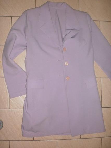 Traje Mujer Saco Tapadito-pantalon N° 560 Color Lavanda