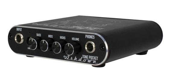 Amplificador De Fone E Interface Usb Ashdown Tone Pocket