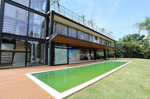 Casa Com 5 Dormitórios À Venda, 880 M² Por R$ 4.399.000 - Fazenda Vila Real De Itu - Itu/sp - Ca0050