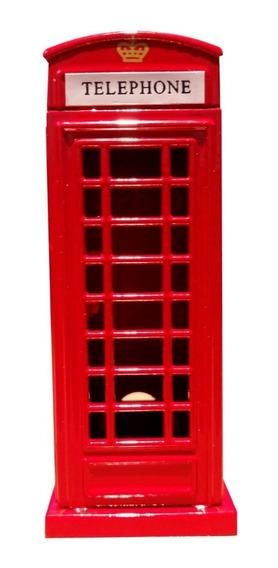 Sacapuntas Replica Cabina Telefónic,bus Londres Reino Unido
