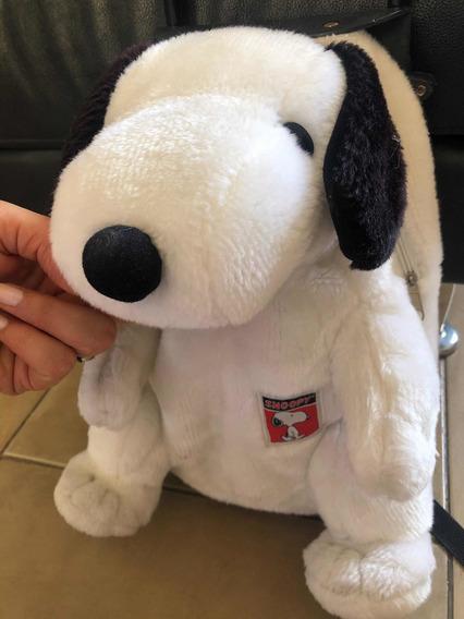 Mochila Con Carrito Snoopy