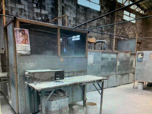 Cabina De Pintura Con Extracción, Horno De Secado Y Noria