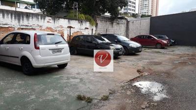 Terreno À Venda, 500 M² Por R$ 3.150.000 - Centro - Santo André/sp - Te0412