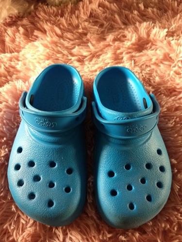 Crocs Azul 12/13 Infantil