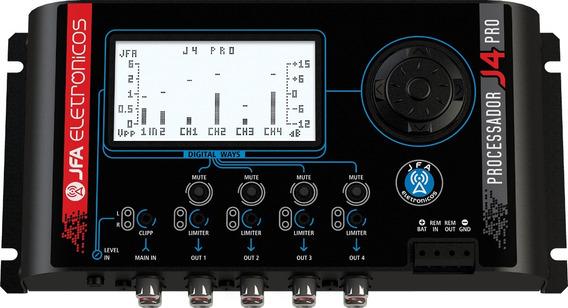 Processador De Audio Jfa J4 Pro Lançamento