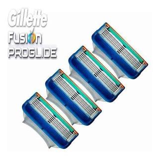 4 Cartuchos Gillette Fusion 5 Proglide 50% Dcto Originales !
