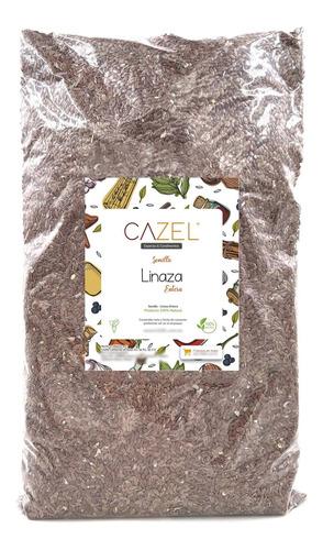 Imagen 1 de 2 de Semilla De Linaza Entera Calidad Premium 1kg