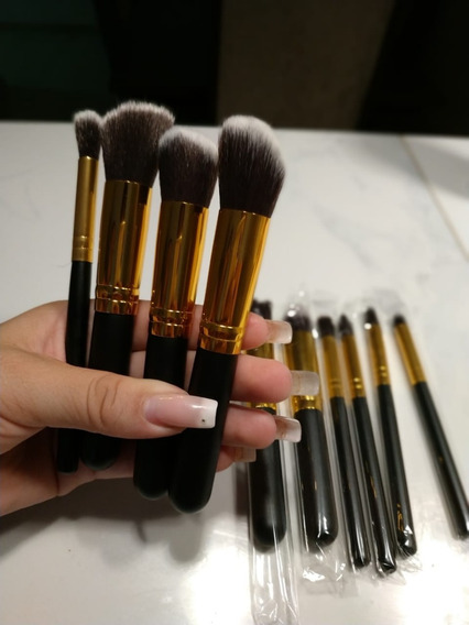 Kit Pincel De Maquiagem