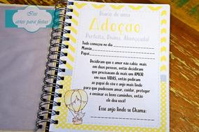 Diário De Adoção, Tam 15x21cm, 170 Páginas (folhas 90g)