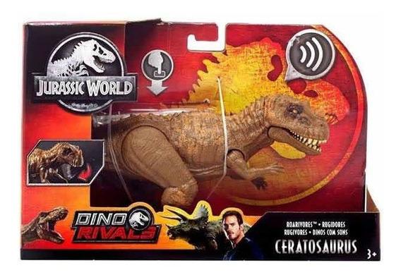 Jurassic World Roarivores Ceratosaurus Mattel