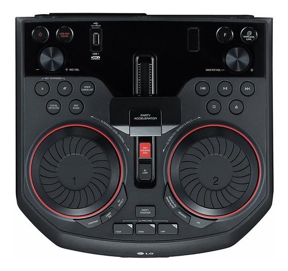 Dj-mini System Lg Xboom Ok55 - Bluetooth - Usb - Dj - 500w