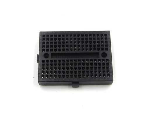 Mini Protoboard Com 170 Pontos, Pic, Arduino (cor Preto)
