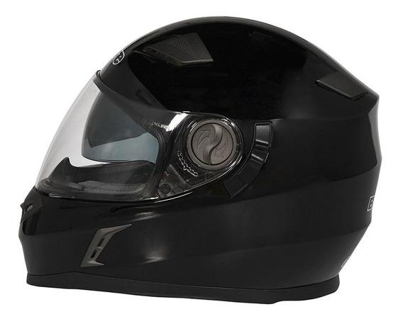Casco Moto Integral Bieffe By Peels Doble Visor 952 Negro