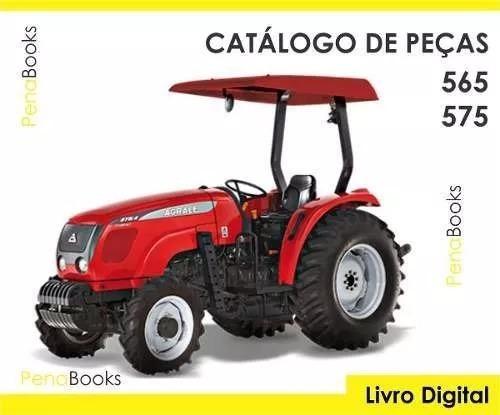 Catálogo Peças Tratores Agrale 5065 5075 Compacto 4x2 4x4