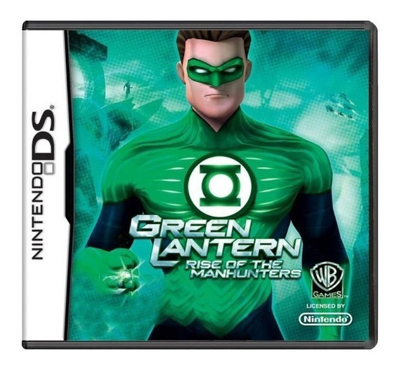 Green Lantern: Rise Of The Manhunters Ds Mídia Física Usado