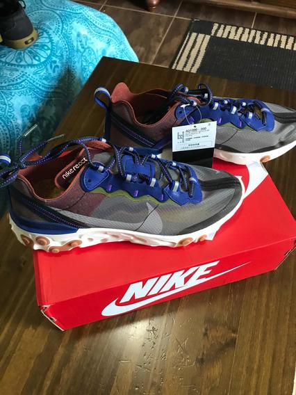 Tênis Nike React Element 87 Novo N 42 Br