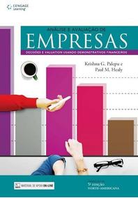 Analise E Avaliacao De Empresas - Traducao Da 5ª Edicao No