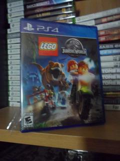 Lego Jurassic World Español - Nuevo Y Sellado - Ps4
