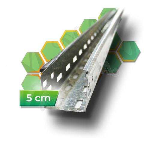 Imagen 1 de 10 de Bandeja Portacable Perforada 50mm X 3 Metros 0.7mm Oferta!