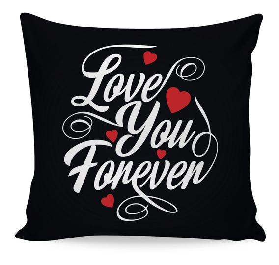 Almofada Decorativa Dia Dos Namorados Várias Estampas