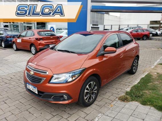 Chevrolet Onix Ltz 2013 Anaranjado 5 Puertas