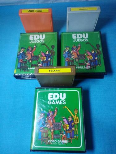 Cartuchos Edu Juegos Atari