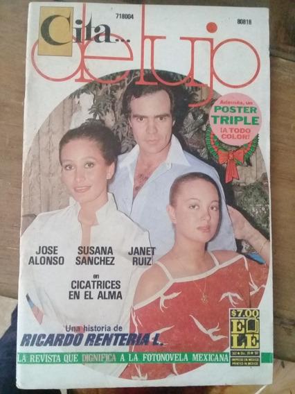 Jose Alonso, Susana Sánchez Y Janet Ruiz En Fotonovela
