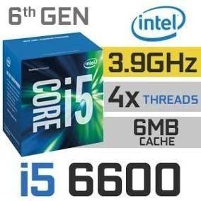 Processador Intel I5 6600 Up 3.90ghz 6ger + Cooler Intel