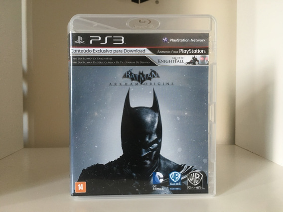 Batman Arkham Origins - Ps3 - Mídia Física Original
