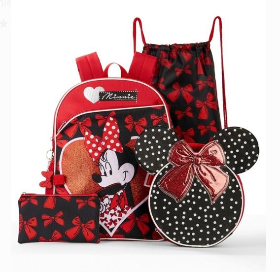 Morral Escolar De Minnie Mouse De Disney