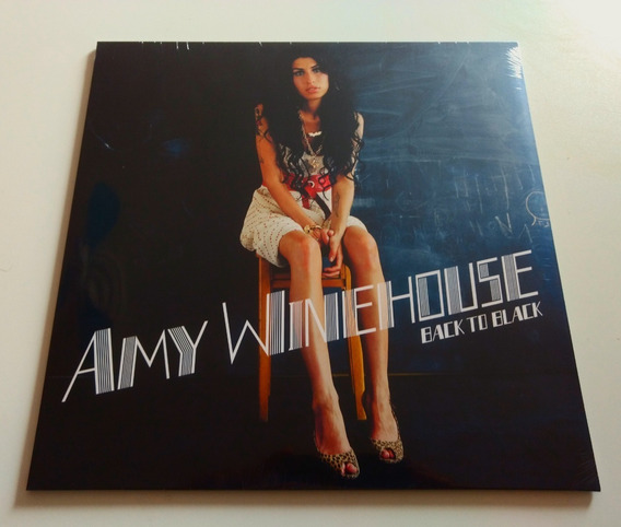 Lp Amy Winehouse Back To Black 180g Lioness Frank Aretha