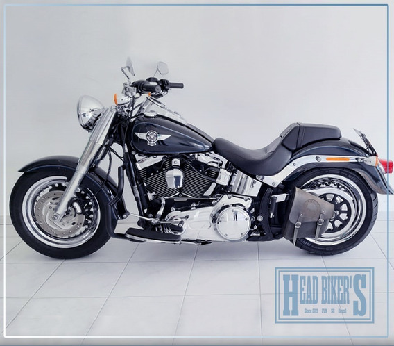 Harley Davidson Softail Fat Boy Std Em Raro Estado