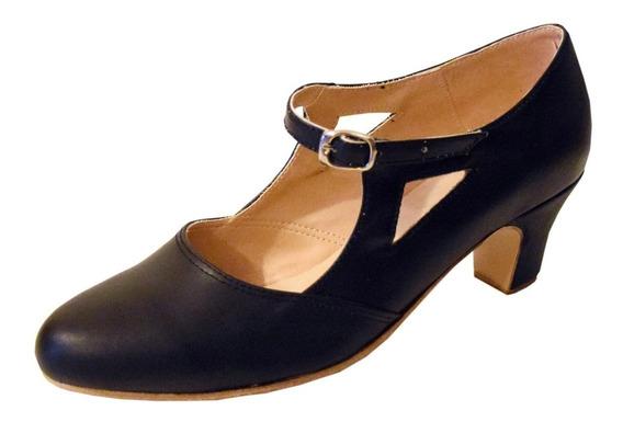 Zapato De Folklore - Español - Danza - Cuero