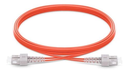 Patch Cord Sc/sc Multimode Duplex 50/125, 3mm, Lszh - 1m. Om