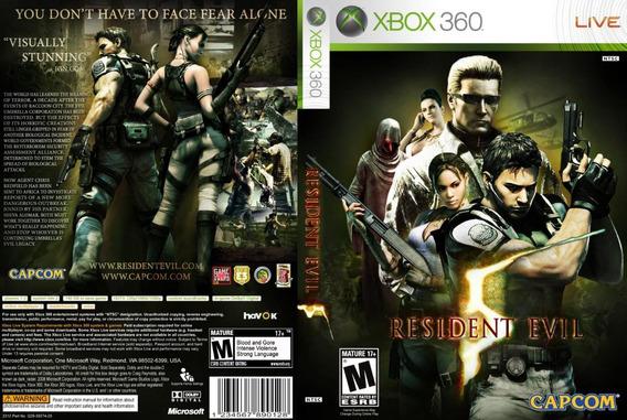 Resident Evil 5 Xbox 360 Mídia Digital (envio Imediato)