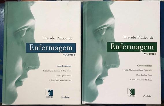 Livro Tratado Prático De Enfermagem - 2 Volumes