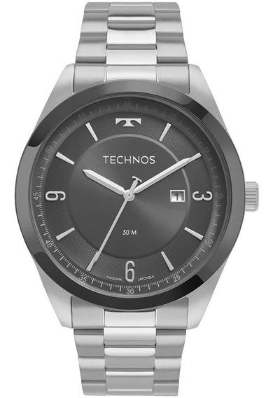 Relógio Technos Masculino Steel Bicolor 2117lbq/1c