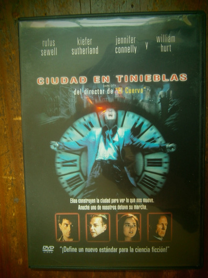 Dark City Ciudad En Tinieblas Dvd Jennifer Connelly Proyas