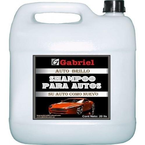 Shampoo Para Lavaderos De Autos 20 Litros Ahora Mas Espuma