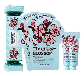 Tonymoly I´m Cherry Blossom Box Set - Mascarilla Y Crema