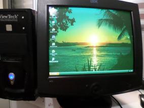 Computador Amd Sempron 3000+ Com Monitor 17 Pol.
