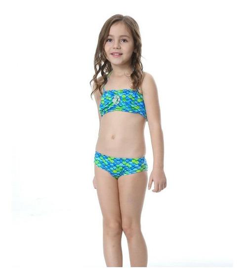 Cauda De Seria Com Biquíni Infantil(sem Monofin)