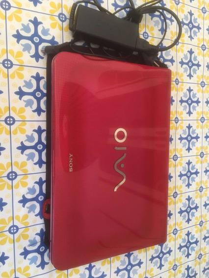 Notebook Sony Vaio Série E Rosa