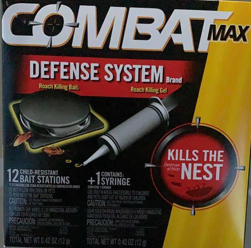 Combat Max Veneno Para Chiripas /cucararachas 18 Estaciones