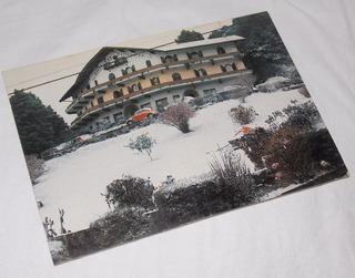 Cartão Postal Não Circulado Gramado Rio Grande Do Sul Neve